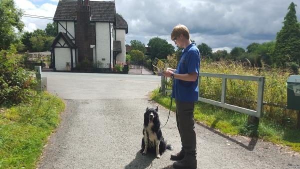 Ash & Guinness grabbed a leaflet