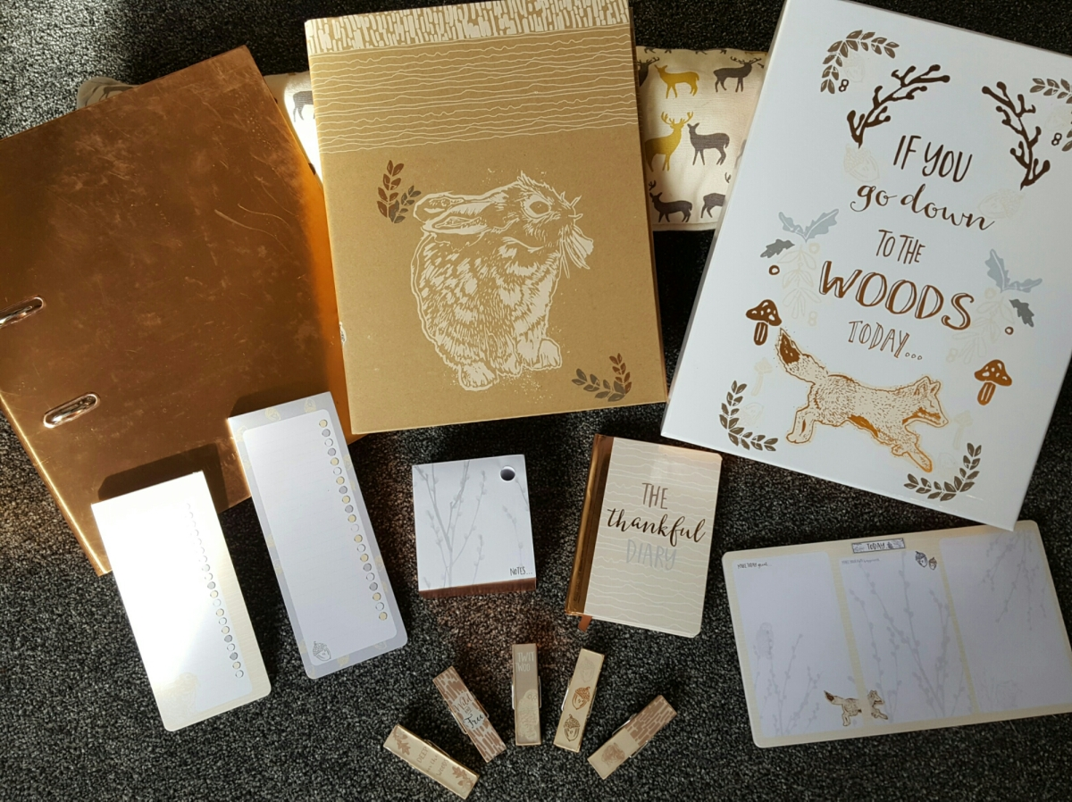 Woodland Theme Stationary Haul